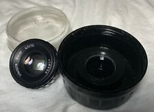 Meopta Belar Photo Enlarging Lens 4,5/75 square aperture w/ original case