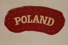 WW2 Polish Poland Shoulder Title Printed Patch