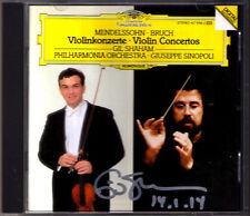 Gil SHAHAM Signiert BRUCH MENDELSSOHN Violin Concerto No.1 Giuseppe SINOPOLI CD
