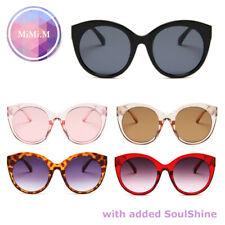 Womens Oversized Round Sunglasses Classic Cat Eye Sun Glasses Festival 400UV