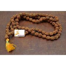Rudraksha Beads & Bead Assortments Rudraksh Japa Mala Rosary 108 Prayer 8mm