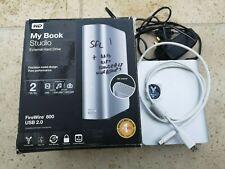 WD My Book Studio 2TB External Hard Drive Firewire 800 USB 2.0. Boxed