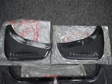 NOS FRONT MUD FLAP GUARD SET NEW HONDA CIVIC SB1 RS 1200 CVCC 73-79