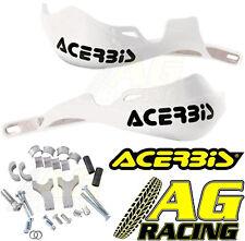 Acerbis Rally Pro White Handguards Mount Kit Kawasaki KX KXF KLX KMX KLR Moto X