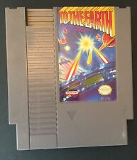 To The Earth (Nintendo, 1989) NES GAME ! Free shipping !
