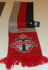 2014 Toronto FC MLS Soccer Football Onyx Red Double Sided Scarf Muffler adidas