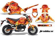 Motorrad Grafik Kit Sticker für Honda Grom 125 13-16 Fireblaze