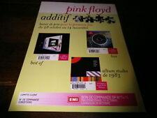 PINK FLOYD - Plan média / Press kit !!! ADDITIF !!!