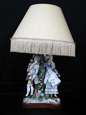 Wallendorf Porzellan Tisch Lampe Figur Figure Figurine um 1764 - 1787