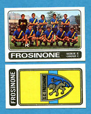 CALCIATORI PANINI 1972-73-Figurina-Sticker n. 532 - FROSINONE + SCUDETTO -Rec