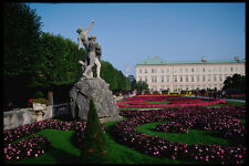 222076 Mirabell Palace Gardens And Statuary Salzburg A4 Photo Print