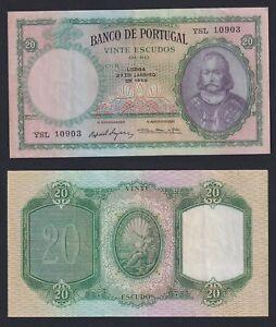 Portogallo 20 escudos ouro 1959 BB+/VF+  C-06