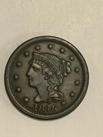 1846   Large Cent  tall date
