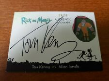 Rick & Morty Season 2 Autograph TK-AI Tom Kenny as Alien Inmate #39/50