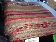 Pottery Barn Dog bed cover Aubree stripe small New