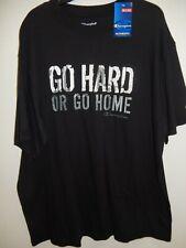 "9411-10 Mens Apparel Authentic Champion ""Go Hard"" T-Shirt Black $29.99"