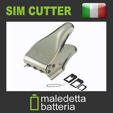 Taglierina Cutter 3in1 da SIM a MICRO NANO SIM iPhone ed altri dispositivi (MZ8)