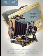SHENHAO professional camera catalog/brochure (ORIGINAL PRINT/not copies)