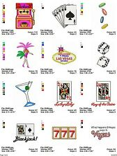 Vegas, 19 embroidery machine designs on CD, Multi Formats available