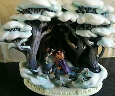 Walt Disney Olszewski Figurine Beauty & Beast Beastly Fight Story Time