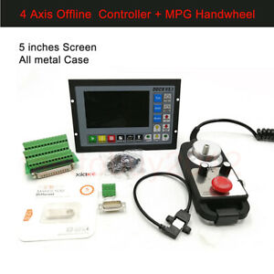 CNC 4 Achsen Offline Motion Controller Ersatz MACH3 500KHz USB Steuerung System