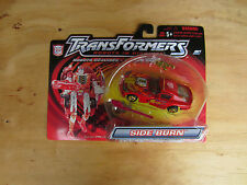 Transformers Action Figure Deluxe Rid Robot in Disguise Side Burn Red Mosc