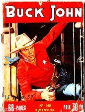 ¤ BUCK JOHN n°140 ¤ 1959 IMPERIA