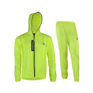 Castelli Squadra Er Jacke Leicht Windfest Radfahren Regen Hülle Gelb Neon
