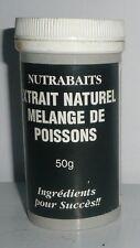 Extrait Naturel Mélange de poissons 50g Nutrabaits