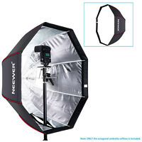 "Neewer 32"" Octagonal Softbox Umbrella for Canon Nikon Speedlite Studio Flash"