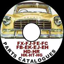 HOLDEN 48 FJ FE FC FB EK EJ EH HD HR HK HT HG all models FACTORY PARTS CATALOGUE