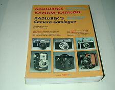 KADLUBEK'S CAMERA CATALOGUE 22000 appareils photo en anglais et allemand