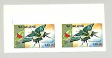 Nagaland (Propaganda) 1971 Butterflies 1v Imperf S/S Collective Proof Pair