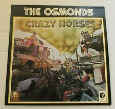 THE OSMONDS Crazy Horses ORIGINAL 1972 UK VINYL LP MGM 2315123 EX