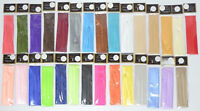 Satin Hat Band 3 Pleat Replacements For Fedoras (Many Colors Available)