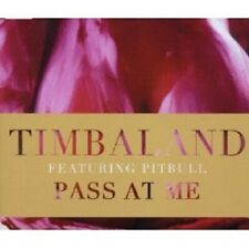 PITBULL TIMBALAND - PASS AT ME CD (2-TRACK)  SINGLE NEW+