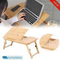 Small Folding Laptop Bed Table Rack Shelf Lap Desk Breakfast Serving Tray Stand