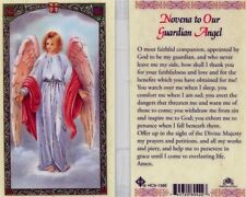 Novena Card to Our Guardian Angel Catholic Laminated Holy Cards Prayer HC9-138E