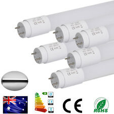 6x4FT T8 LED Fluro Tube Light Replacement 24W G13 1200mm Fluorescent Tubes 4Foot