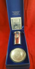 Salisbury Pewter, Images of America desk set (pencil cup & paper weight) 2013 b3