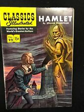 Classics Illustrated #99 Hamlet by William Shakespeare (Hrn 98) 1st 1952 Fine