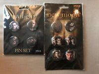Twilight / Twilight New Moon Pin Set 10 Buttons