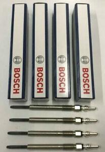 4x Bosch Glow Plugs For Vauxhall Combo 1.3 CDTi 70 75 O/E Quality