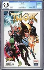 Thor #7 Land Uncanny X-Men Variant Edition CGC 9.8 Graded White Marvel NM/MT
