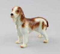 9942876-ds Wagner & Apel Porcelain Figurine Springer-Spaniel Dog H11cm