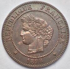 France Ceres 5 centimes 1896 A faisceau bronze #1077