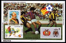 Bolivia bl. 121 **, fútbol WM 1982