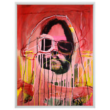 C2 Neil Young Harvest Moon Abstract Painting Graffiti Street Art Pop Art Crowley