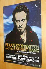 Bruce Springsteen Tourplakat/Tourposter 2009  - Olympiastadion München