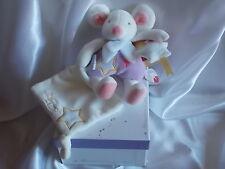 Doudou souris luminescent, violet, Magic Doudou et Compagnie (Cie)